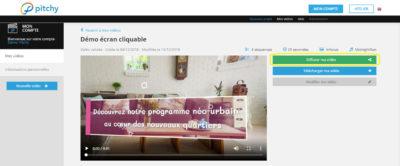 Insertion d'un écran cliquable dans vos montages vidéo