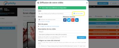 Insertion d'un écran cliquable en fin de montage vidéo