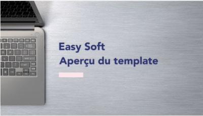 Template Easy Soft pour montage vidéo